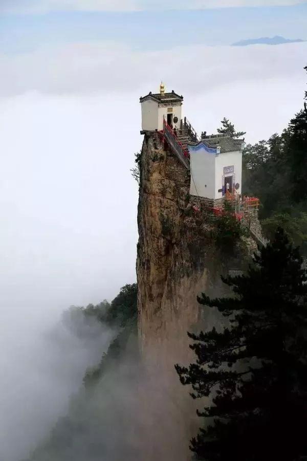 中国最险的6大寺庙:屹立千百年而不倒