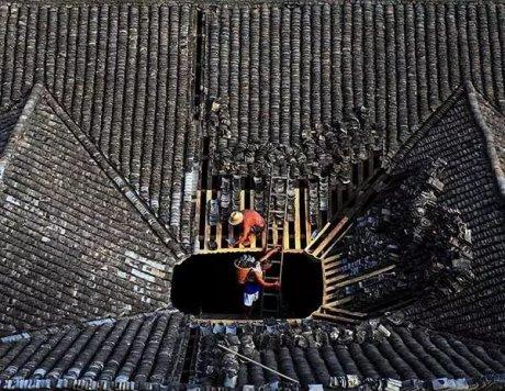 中国古建筑:逐渐消失的中国居