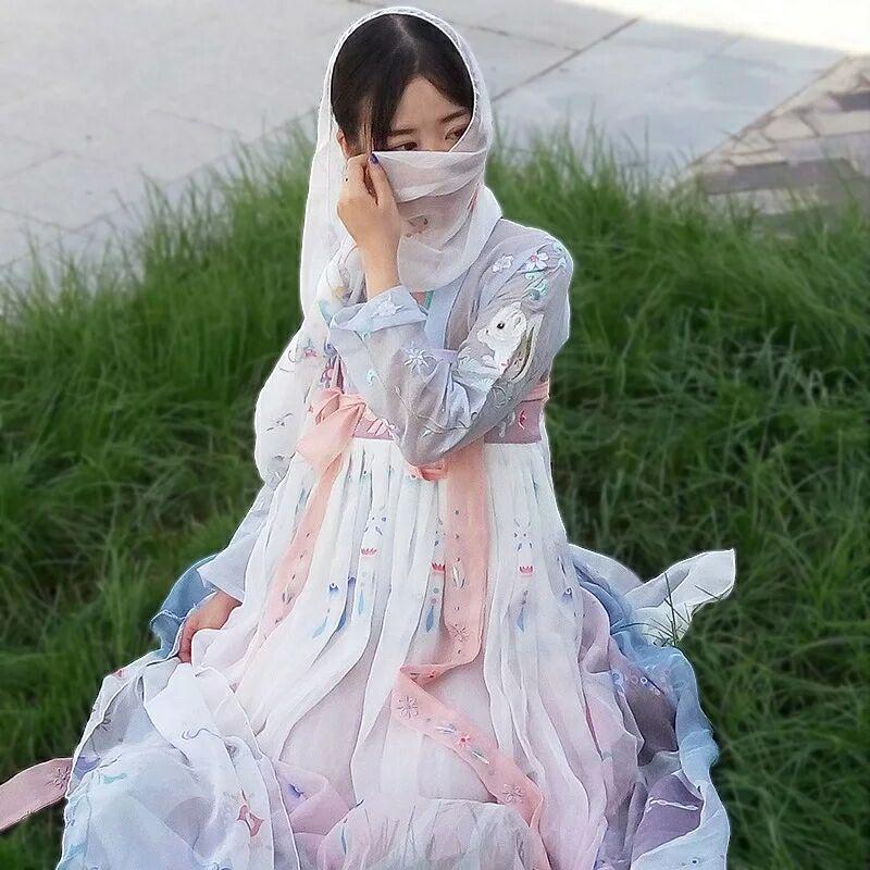 古风优美淡雅,仙气缥缈汉服