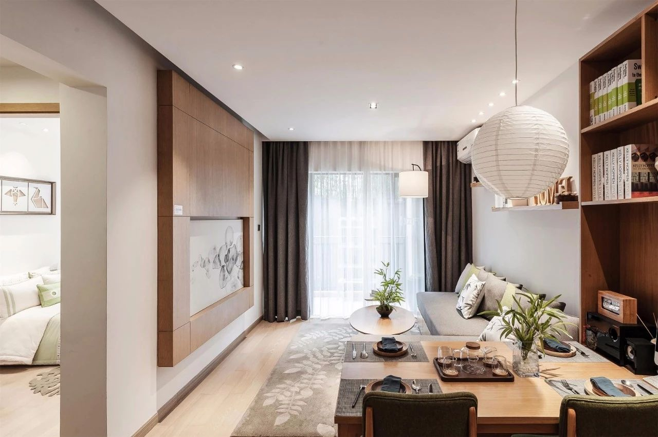 极致原木之美,日式住宅装修设计