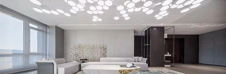 极简的留白之美,北京集美组的装修设计