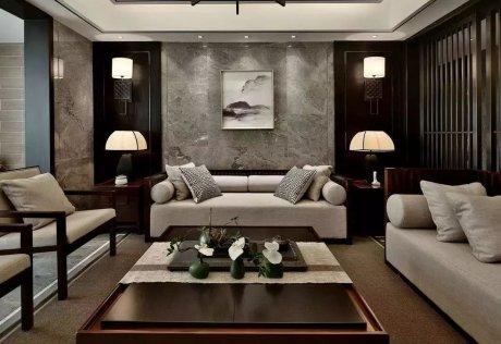 中式装修,素雅不过沙发墙