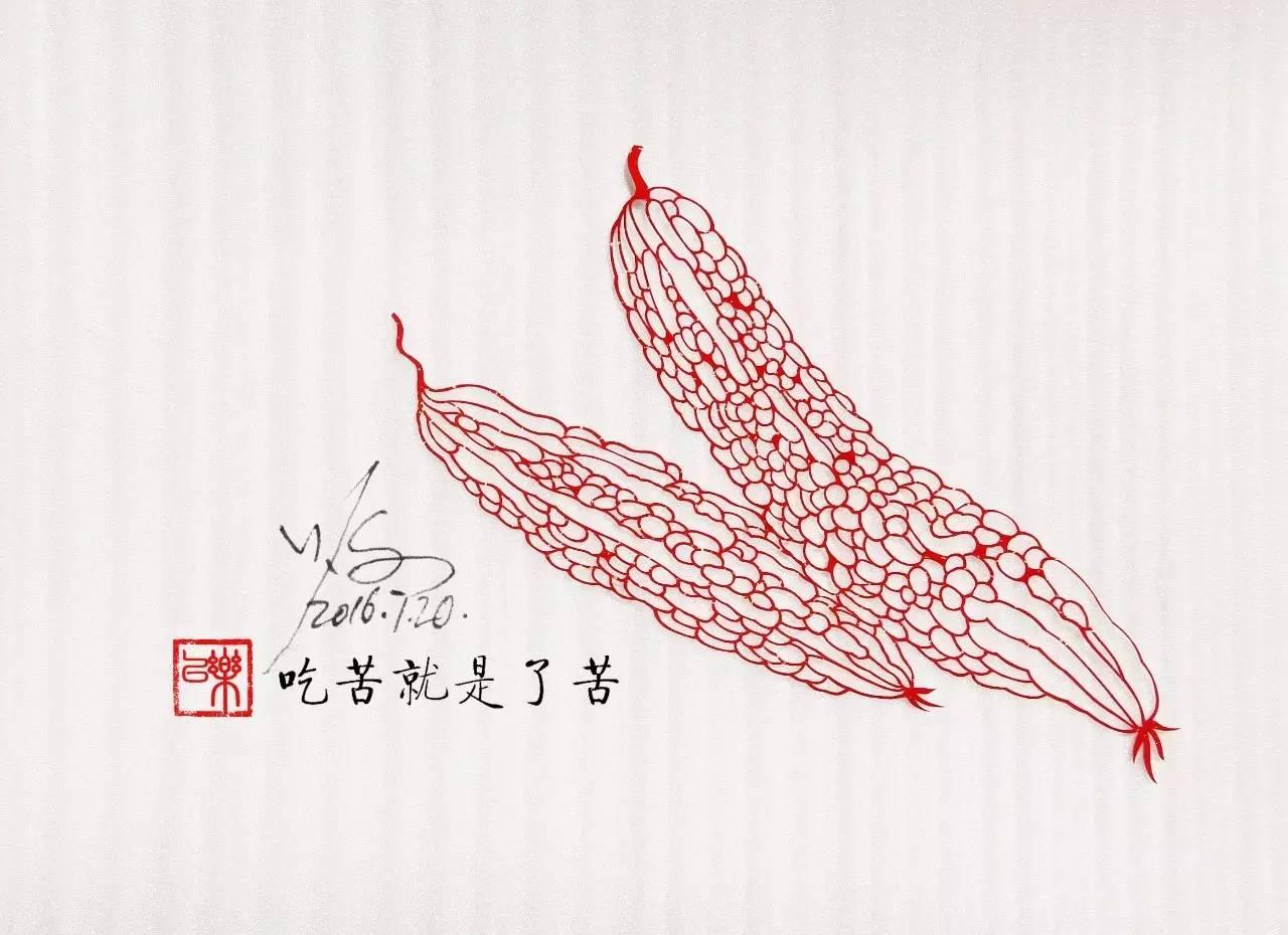 剪纸艺术作品:一次镂空一根线条的信仰!