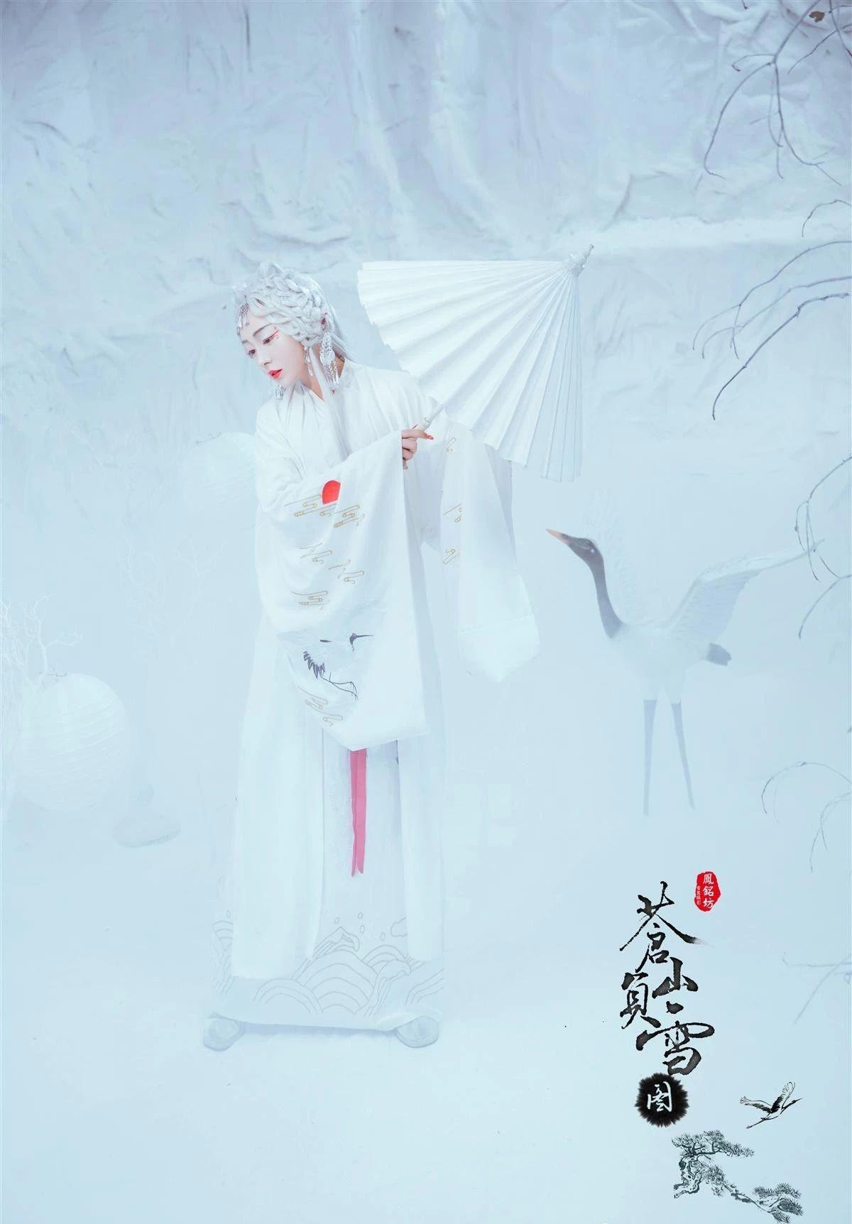 苍山负雪_苍山负雪图·古装人像摄影- 中国风