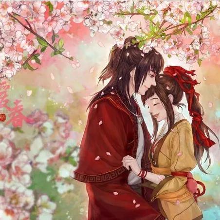 八款情侣古风头像:甜蜜的爱情