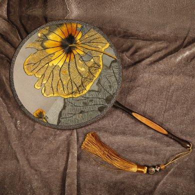 五款古典优雅刺绣团扇:一袭古