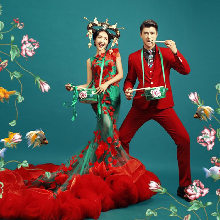 一场特别的中式婚礼:领略古典美的魅力