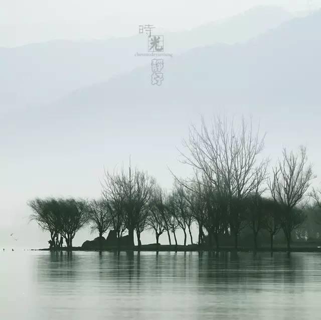 风景摄影作品时光静好:邛海景色!