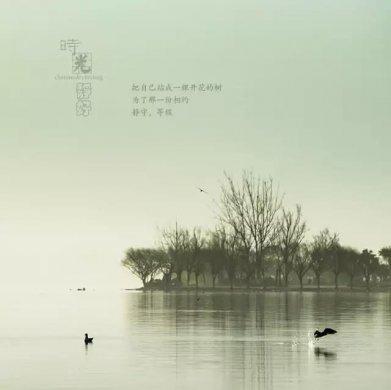 风景摄影作品时光静好:邛海景