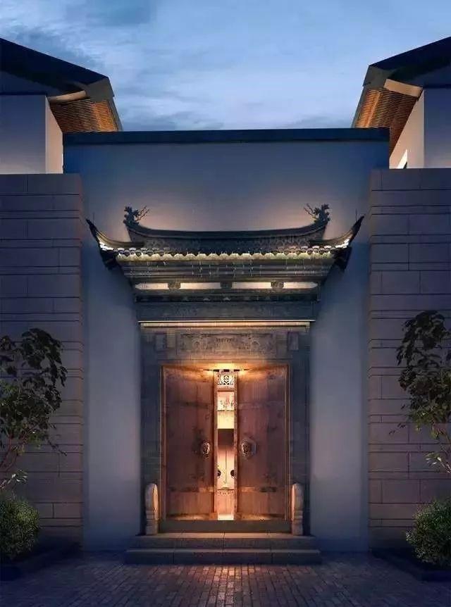 45款中式大门,中式的优雅与从容