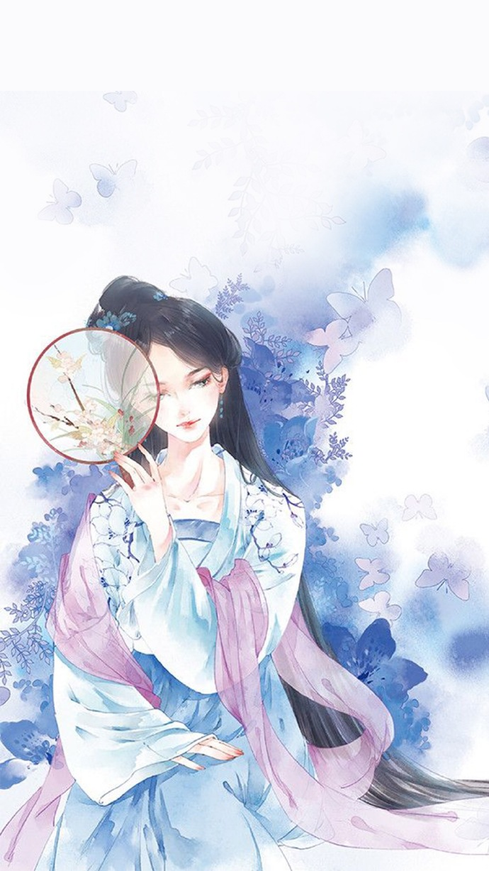 意境之美_十款唯美古风图片:一组古风女子插画- 中国风