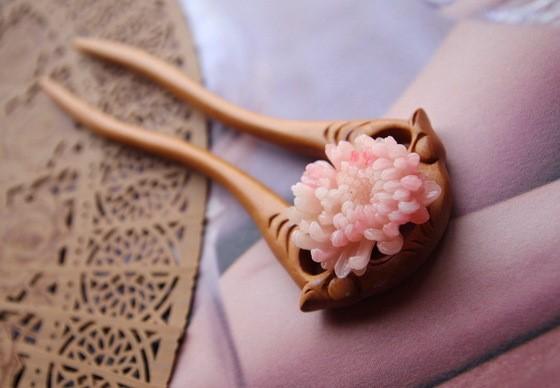 8款优雅簪子:一枝古簪执手为你绾发间!