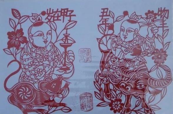 老图案十二生肖剪纸:绽放古老的艺术