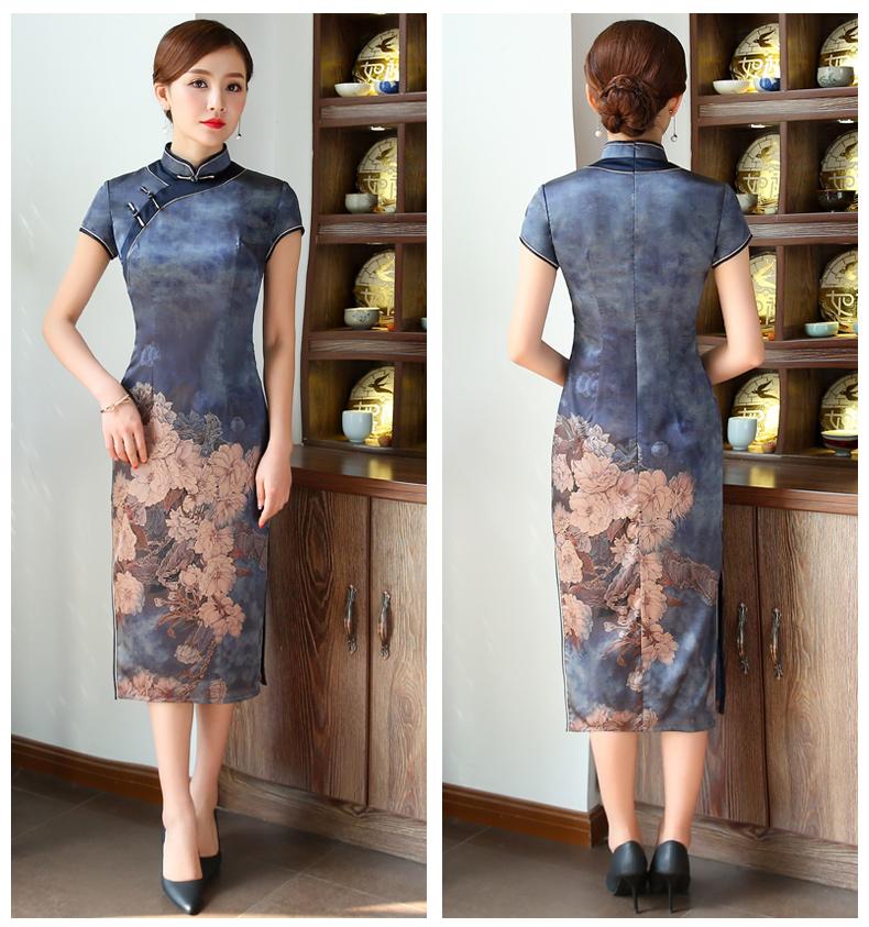 优雅风格旗袍:充满成熟妩媚的女性美