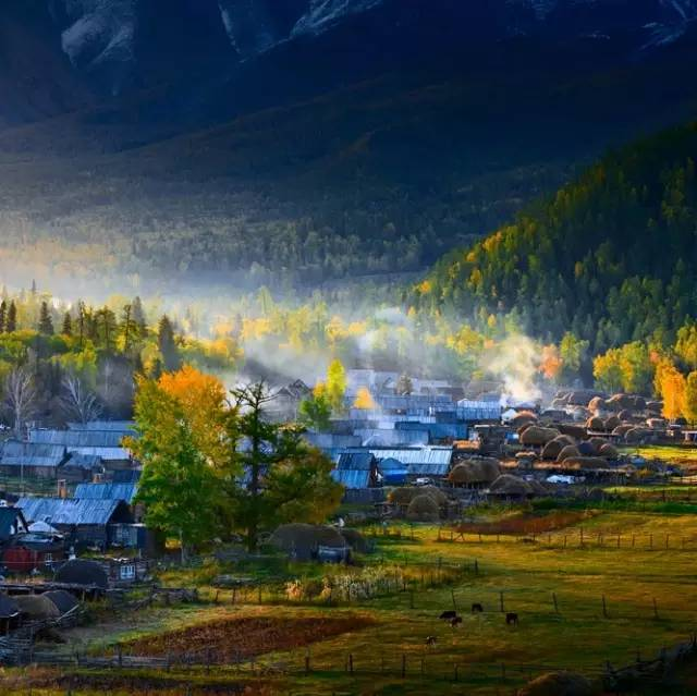 拨动心弦的人间美景:西北第一村·白哈巴