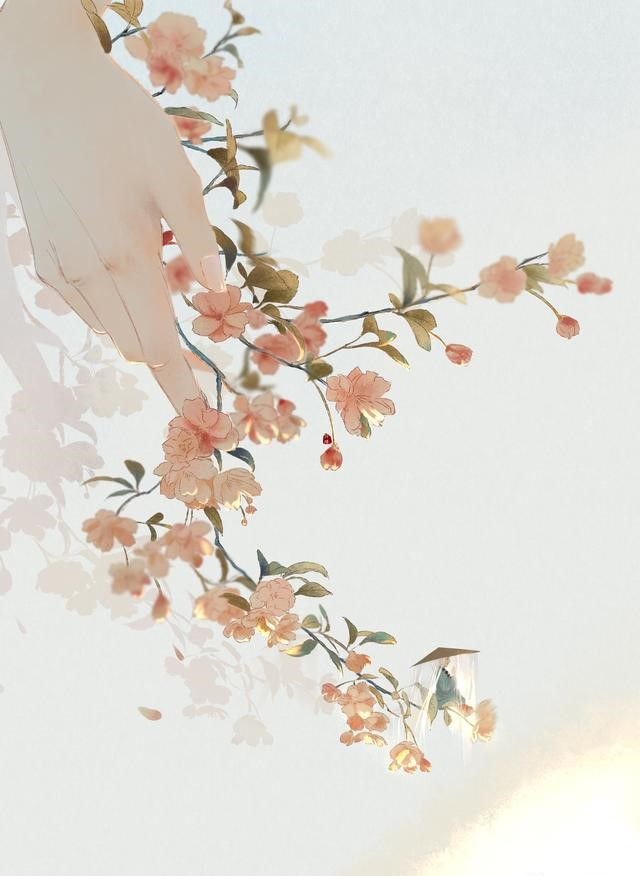 唯美q版动漫头像_一组唯美古风图片:一人一花一世界!- 中国风
