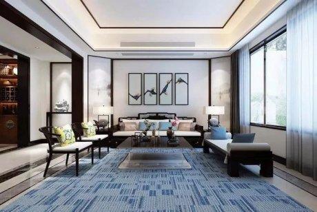新中式客厅之美:魅力十足的中