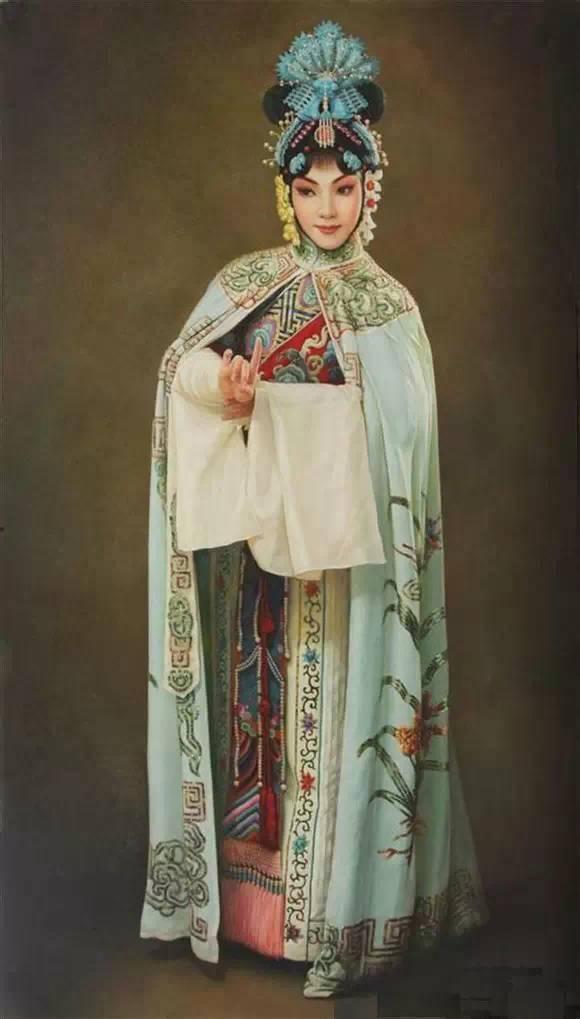 油画中的京剧人物,美的不可思议!