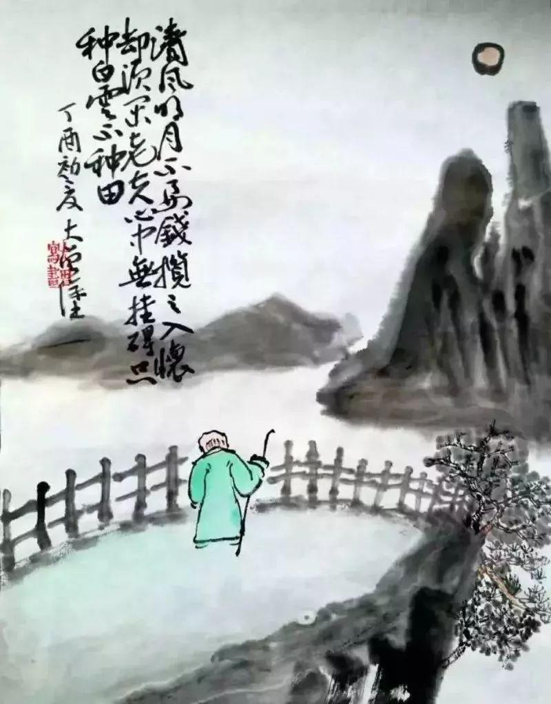 赏消暑21图:国画中的小暑诗词艺术