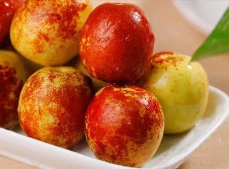 大荔冬枣美食:冬枣的功效与作