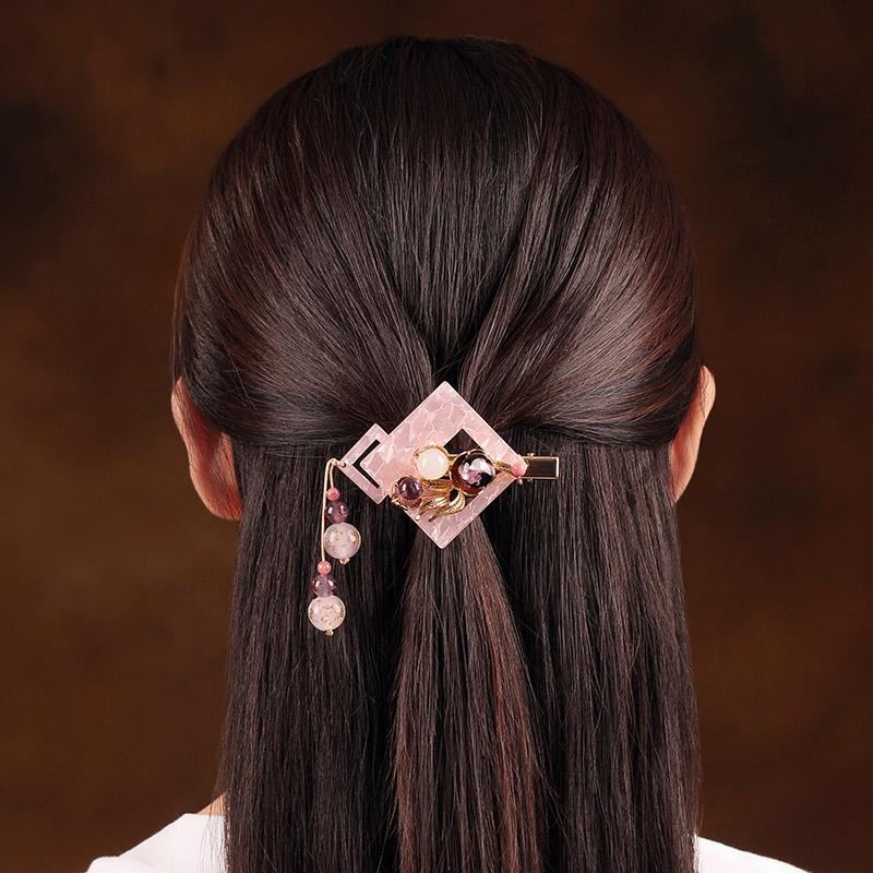 紫陌发夹:陌上花开