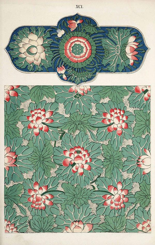 22款瓷器纹样:瓷器上的花纹图案竟然这么美!