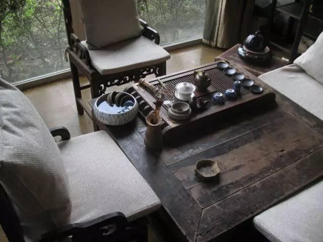 中式装饰,家虽小茶室亦可很精致