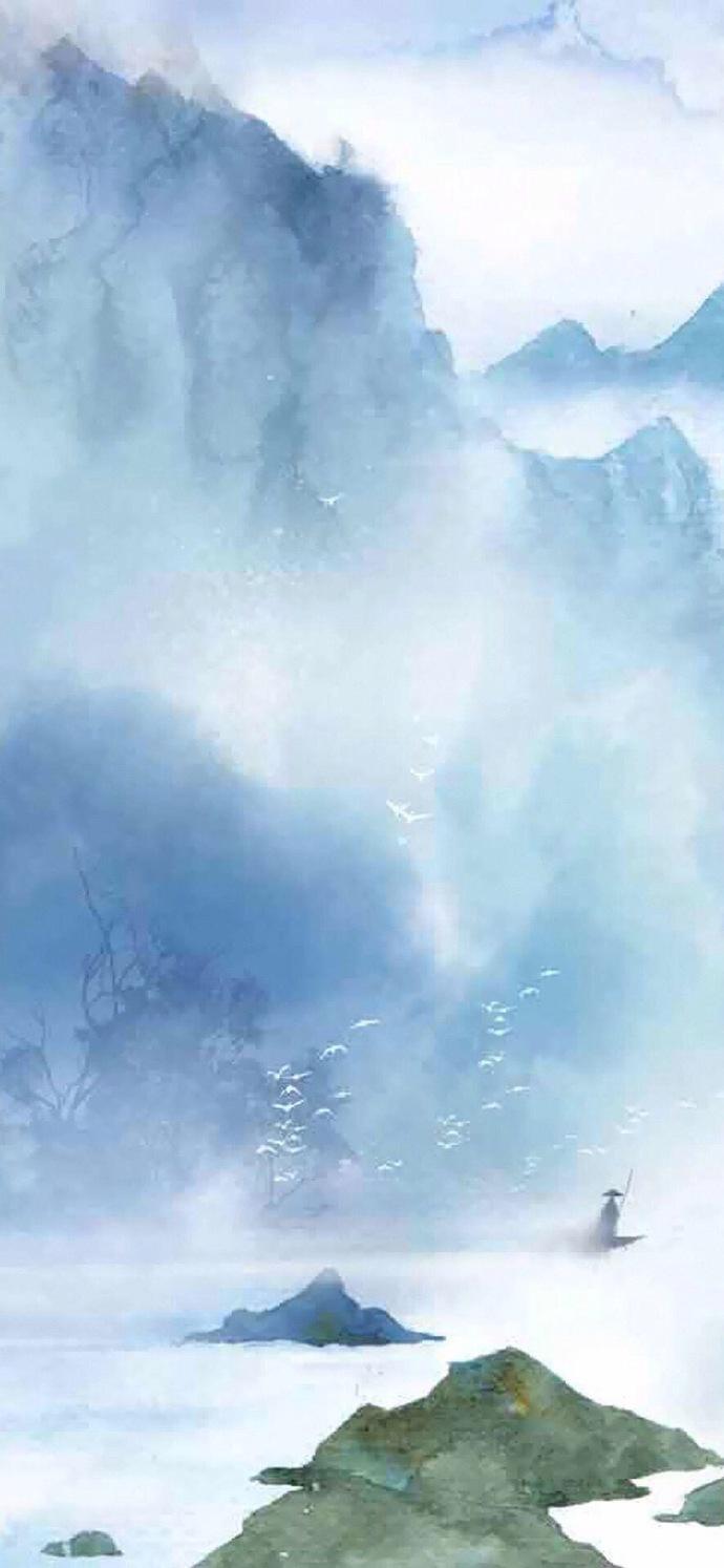 淡雅中国风背景_15张古风手机壁纸图集,好美意境的古风图片- 中国风