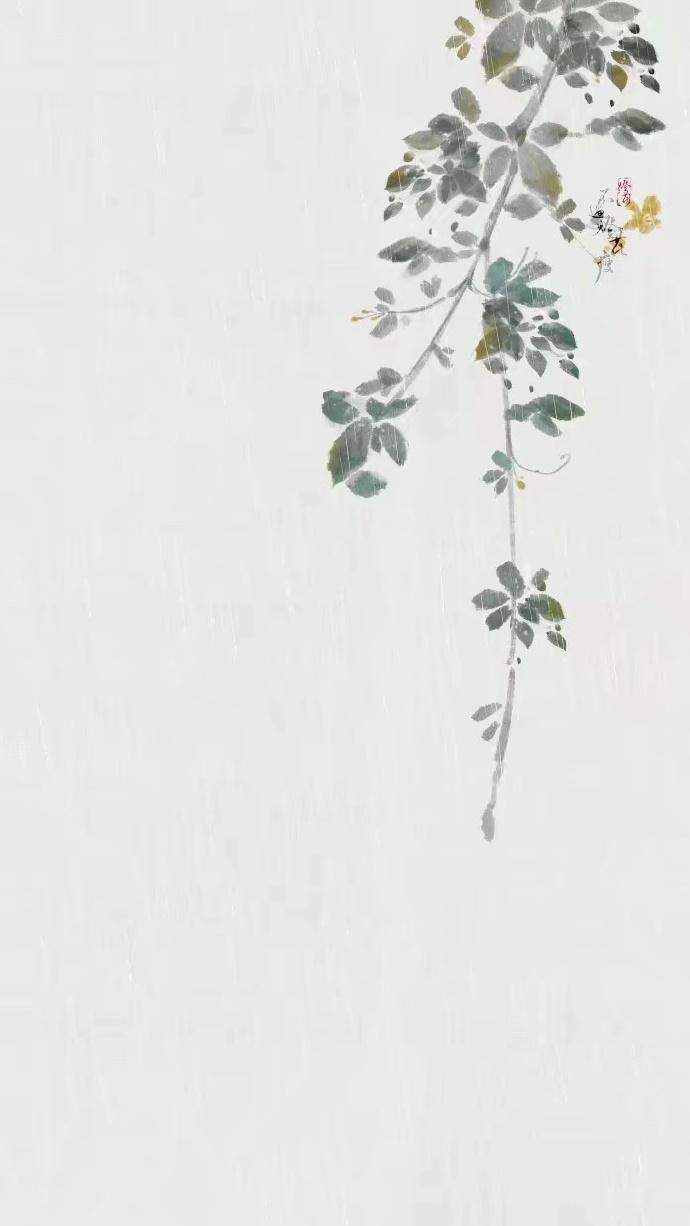 雨天小清新壁纸图集,好有意境的唯美古风图片