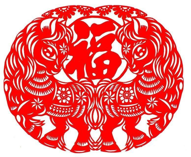 活泼可爱的小马驹剪纸图集(25张),孙立峰作品
