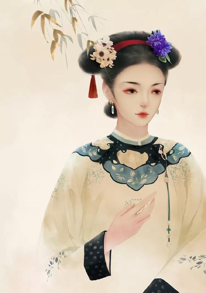20张超美古风女子图集,欣赏古风女子之美