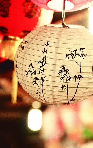 中式灯具之美,美灯配美景美哉