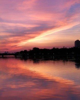 落日风景摄影图集,夕阳西下总