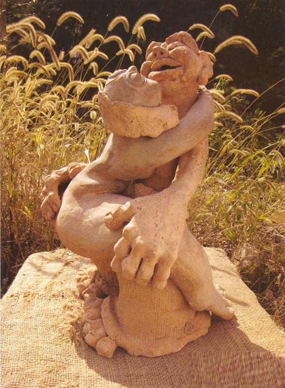 泥土的涅槃——雕塑艺术大师汉方作品赏析