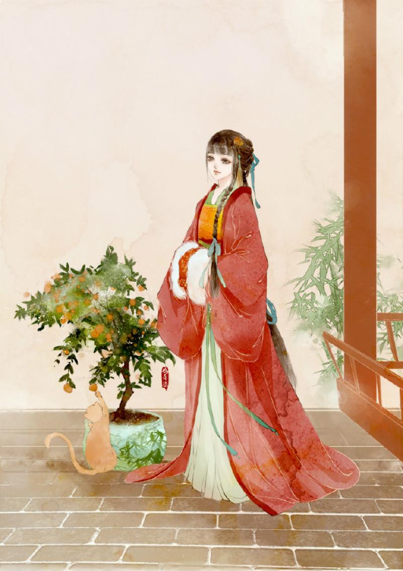 迷人的古风图片女子,超美古风女子图集(47张)