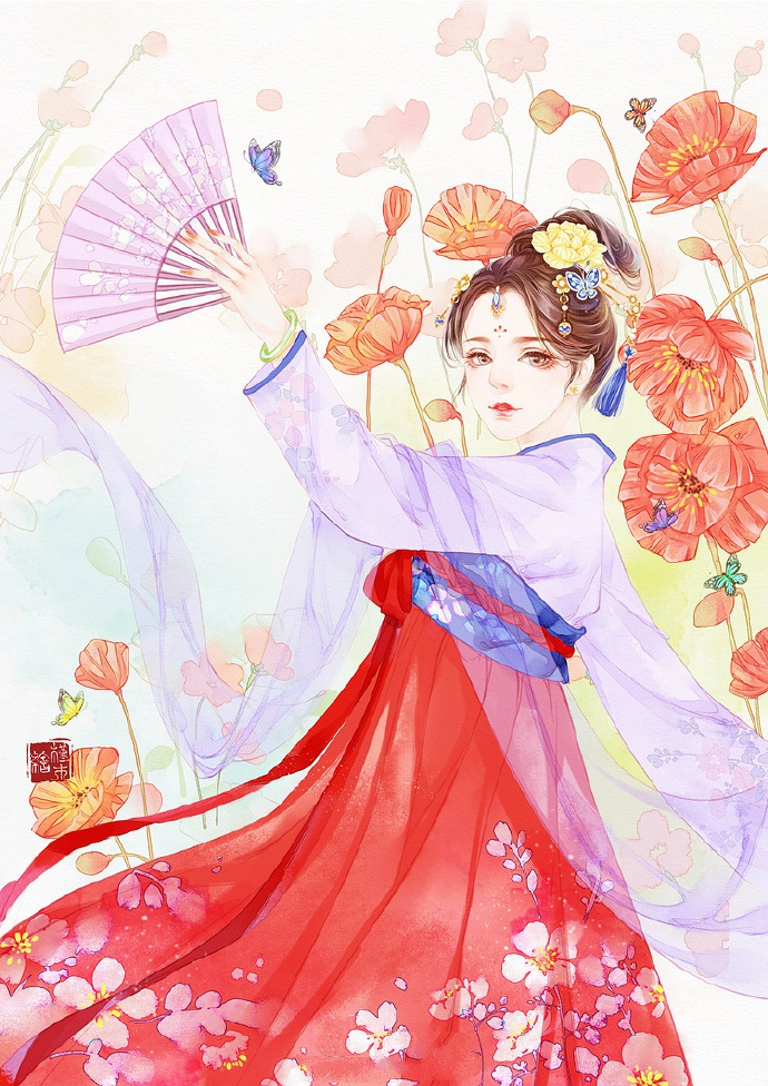 超美古风女子图集(38张),高清古风图片欣赏
