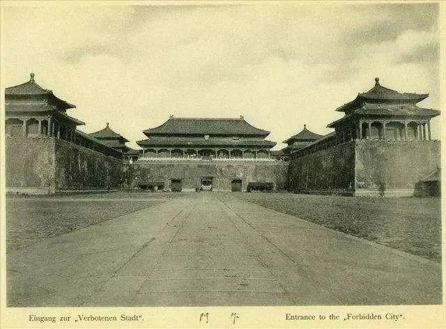 领越百年前的故宫风采,中国古建筑美哉!