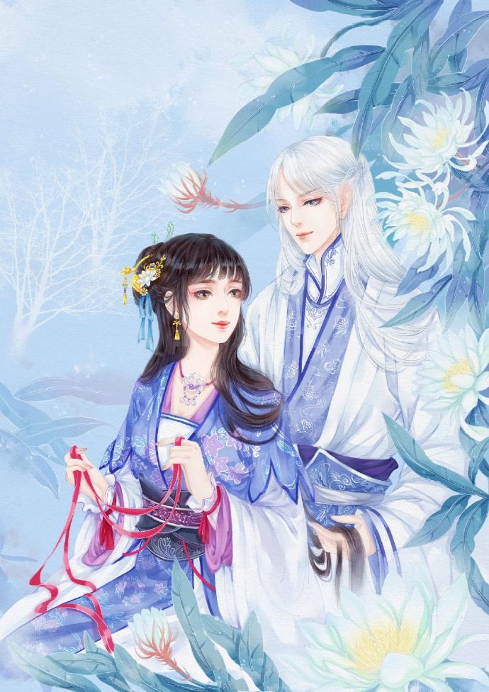 意境之美_超甜的古风情侣图集,清新唯美古风图片(19张)- 中国风