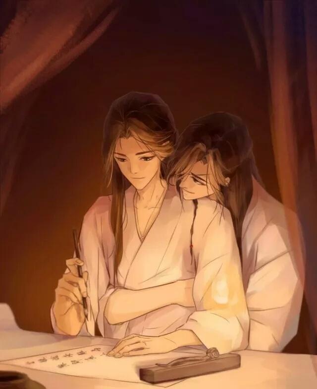 《天官赐福》古风图集(23张),花城好帅呀!
