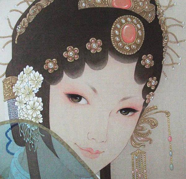 超美的京剧花旦人物图集,可做头像的花旦人物