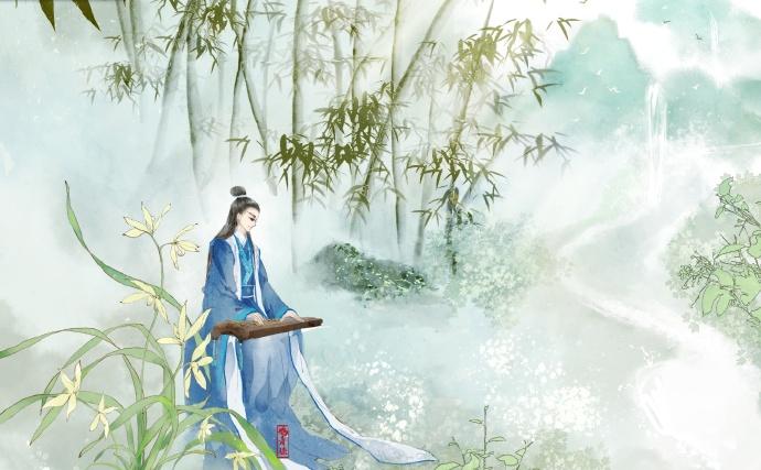 高清古风美男图集(18张),超帅美男古风图片