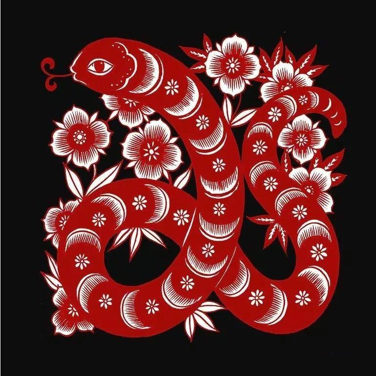 红与黑的剪纸艺术,曹文峰十二生肖剪纸作品