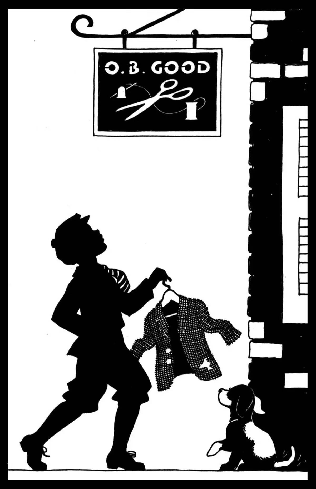 黑白童趣剪纸(26张),西方剪影作品欣赏
