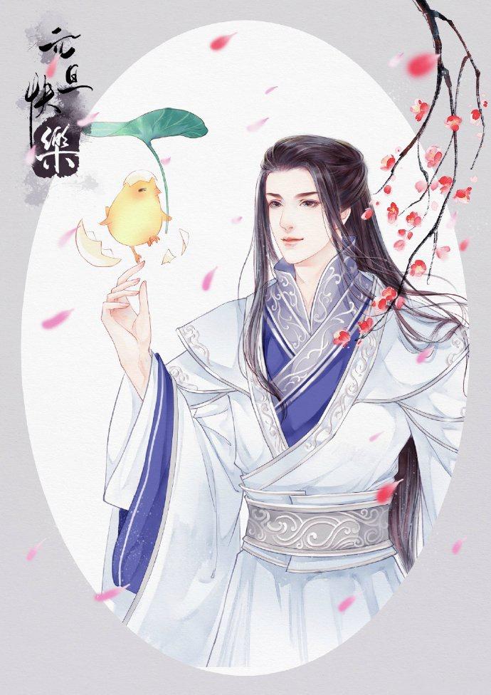 高清古风美男图集(12张),超帅美男子古风图片
