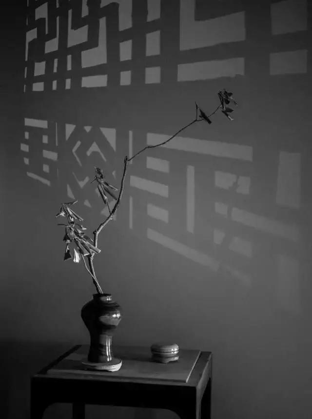 超有意境的瓶花艺术,一组简约中国瓶花艺术