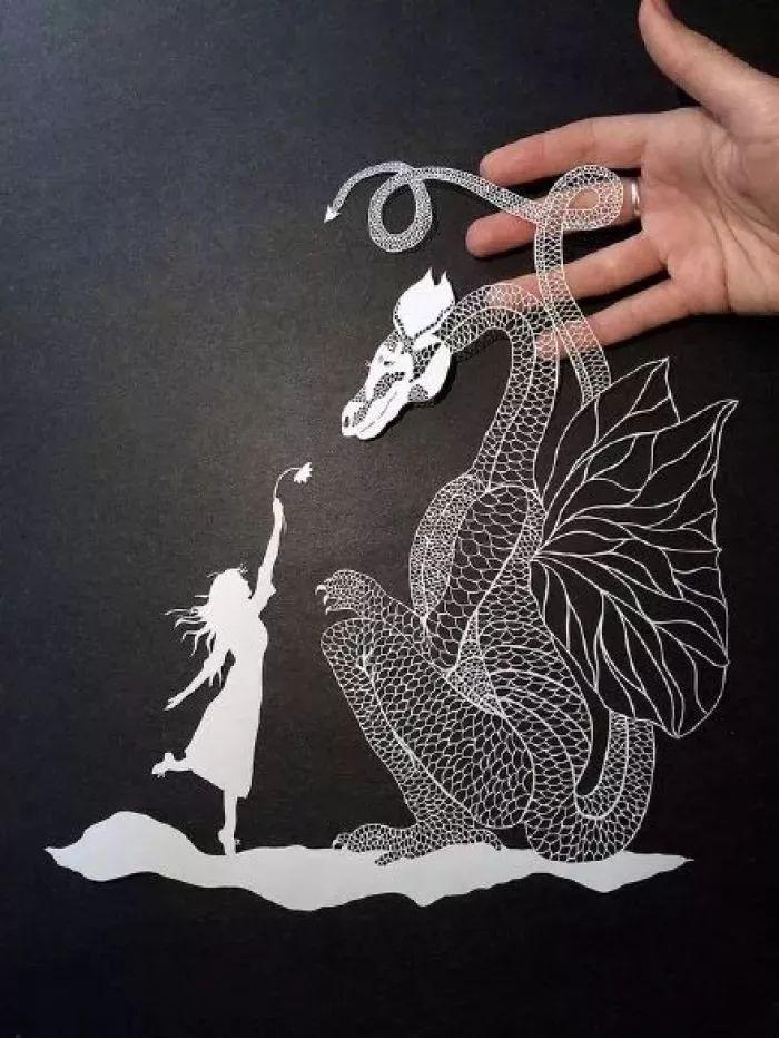 栩栩如生的纸雕艺术作品欣赏(20张)