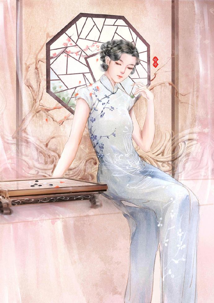高清美丽古风女子图集,惊艳唯美古风图片欣赏