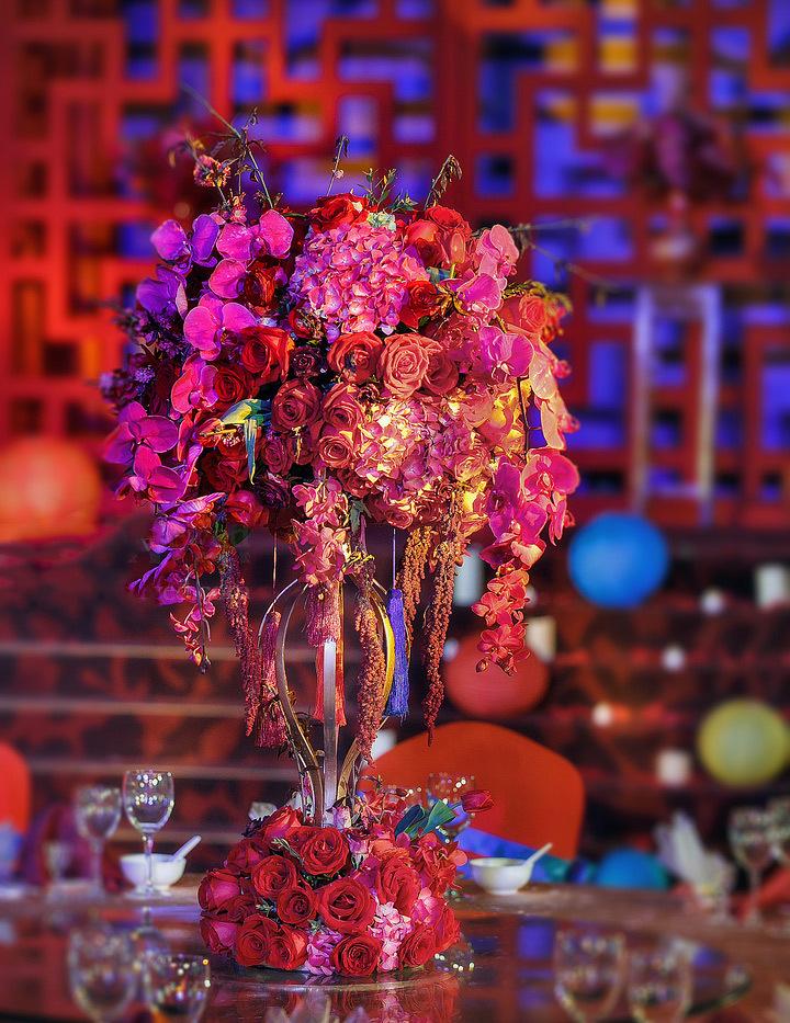 一场最美中国传统婚礼,中式婚礼中的一角