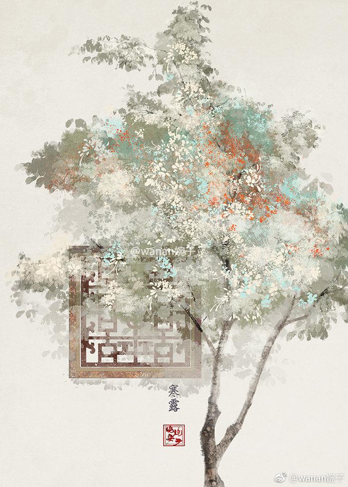 唯美意境24节气古风图片,适合做壁纸的古风图片