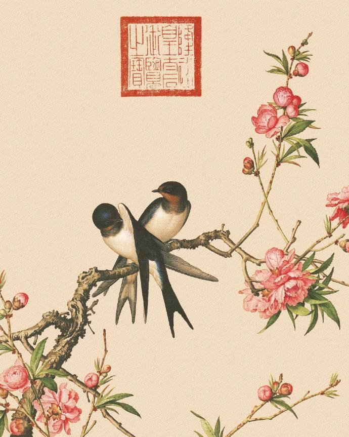 郎世宁的工笔画欣赏,品味国画艺术的古典之美